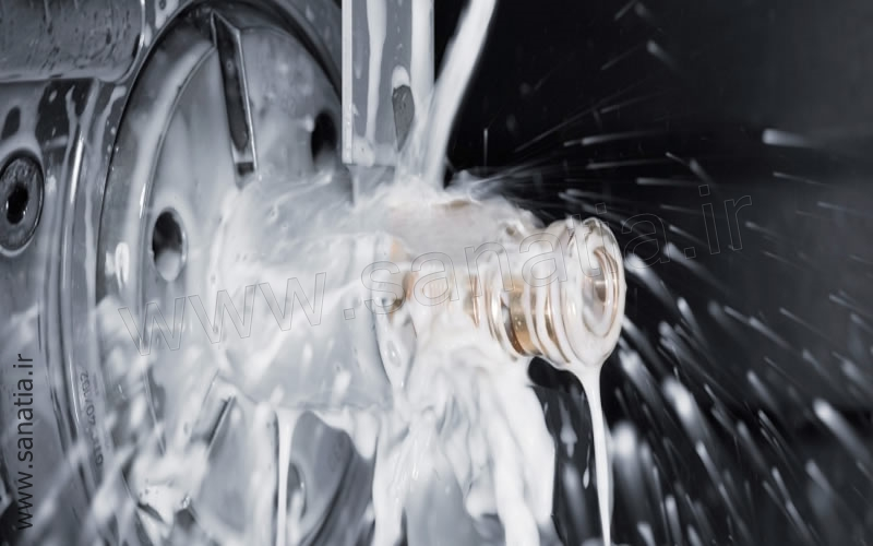 صادرات روغن حل شونده آب صابون برای تراشکاری